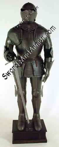 Sentinel Aged Suit Of Armor
