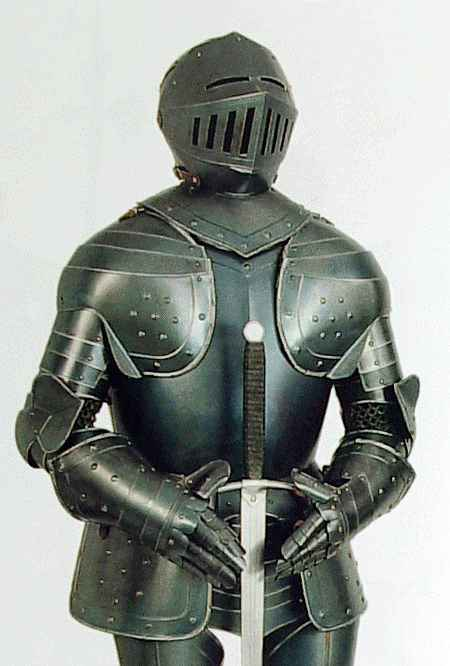 Suit of Armor, Italian Black Knight