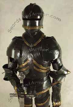 German Gothic Suit of Armor Torso