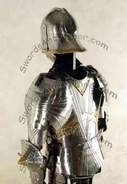 Gothic Suit of Armor Back