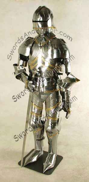 AR399 Gothic Suit of Armor