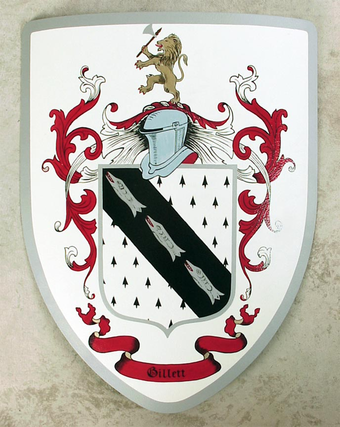 Custom Crests and Coat of Arms, Shields