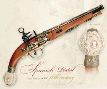 Spanish Flintlock Pistol