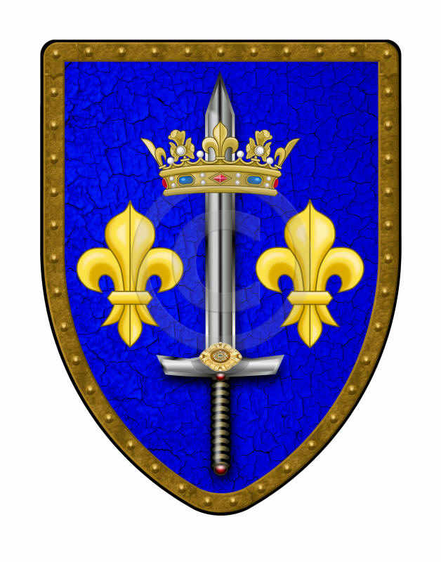 Joan Of Arc Medieval Shield
