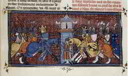 John de Earley white knight defending King Richard