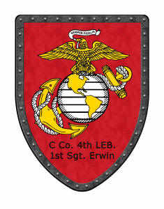 Special awards shield for Marines