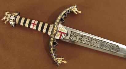 Richard The Lionhearted sword