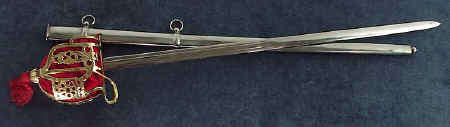 Scottish regimental broad sword