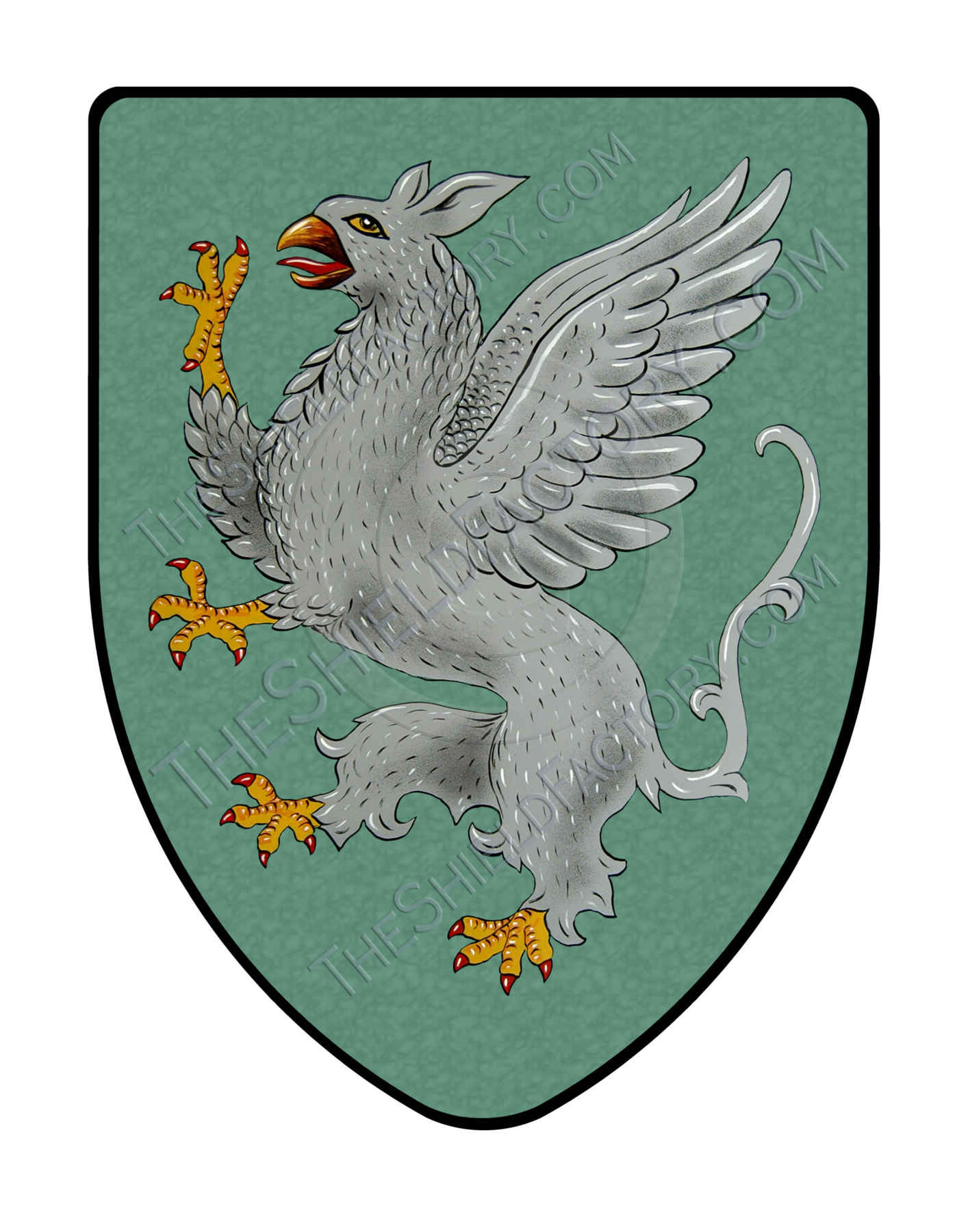 Gryphon Medieval Shield