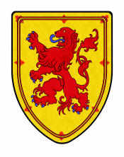 Scotland Lion shield
