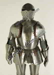Sentinel Suit Of Armor Torso View