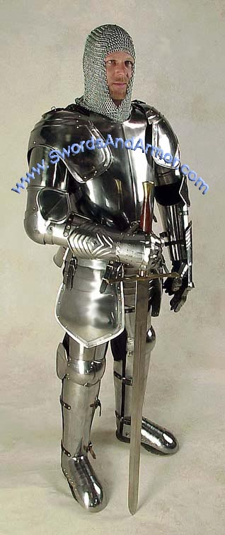 dragon slayer suit of armor wearable