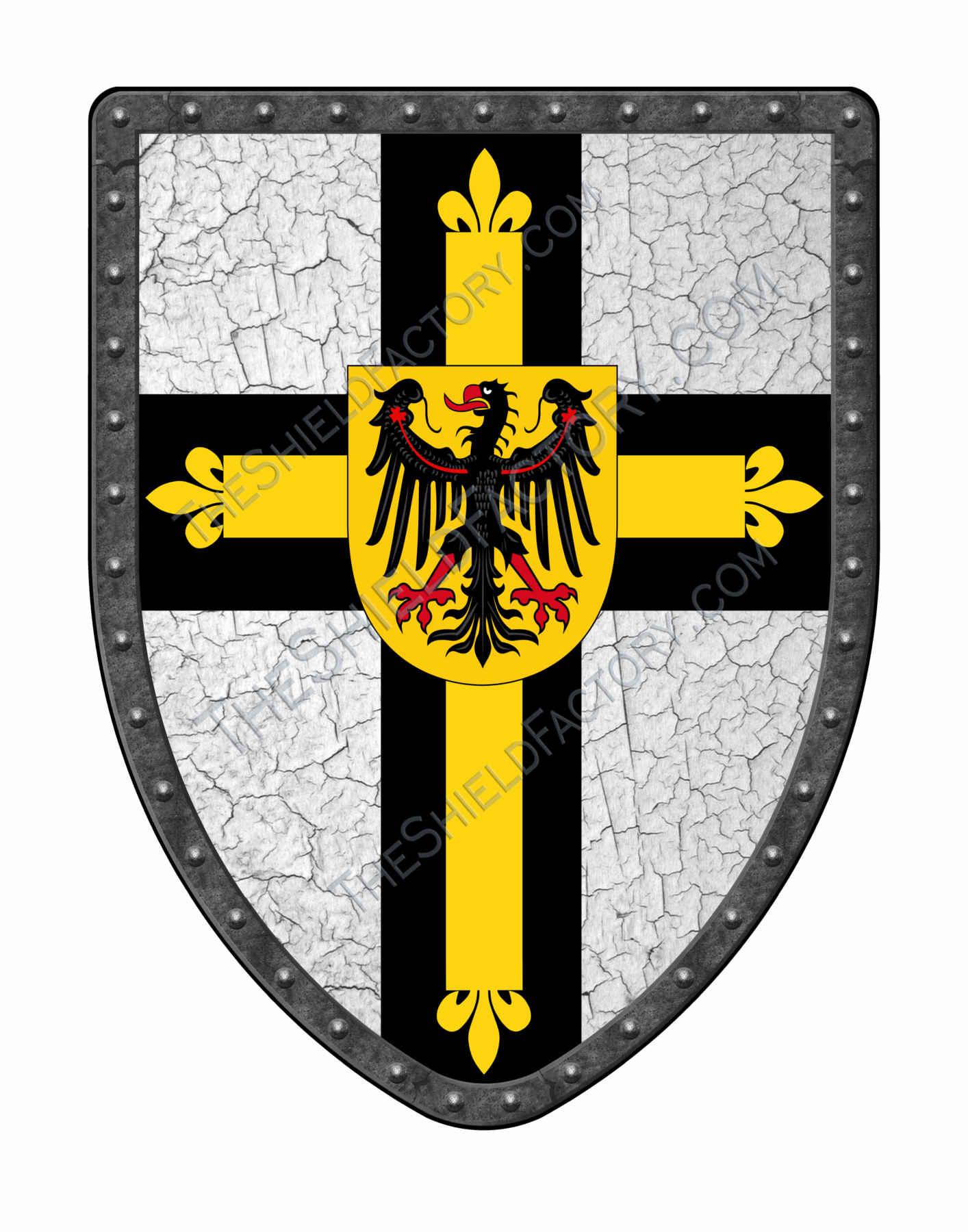 knight shield symbols medieval shields stock photos