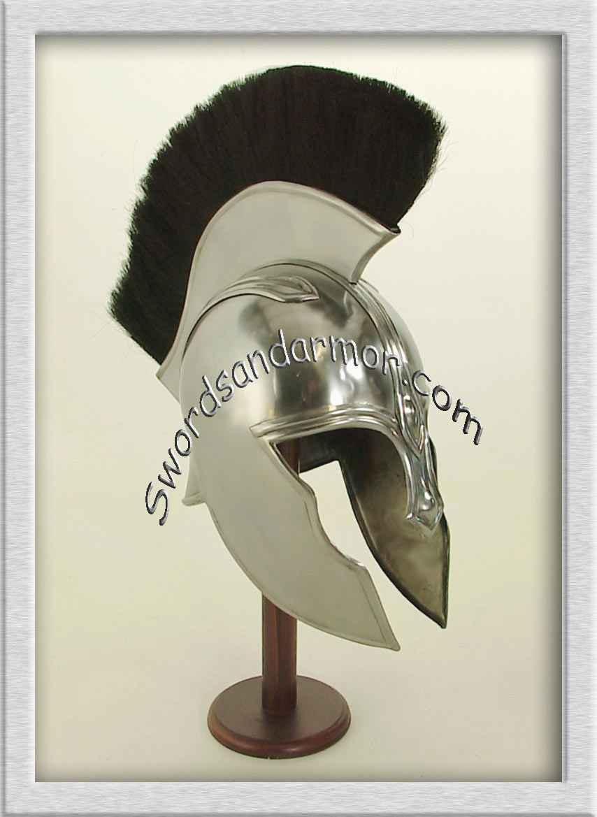 roman centurion helmet red horsehair crest