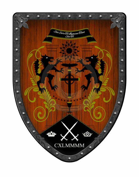 Truth custom medieval shield