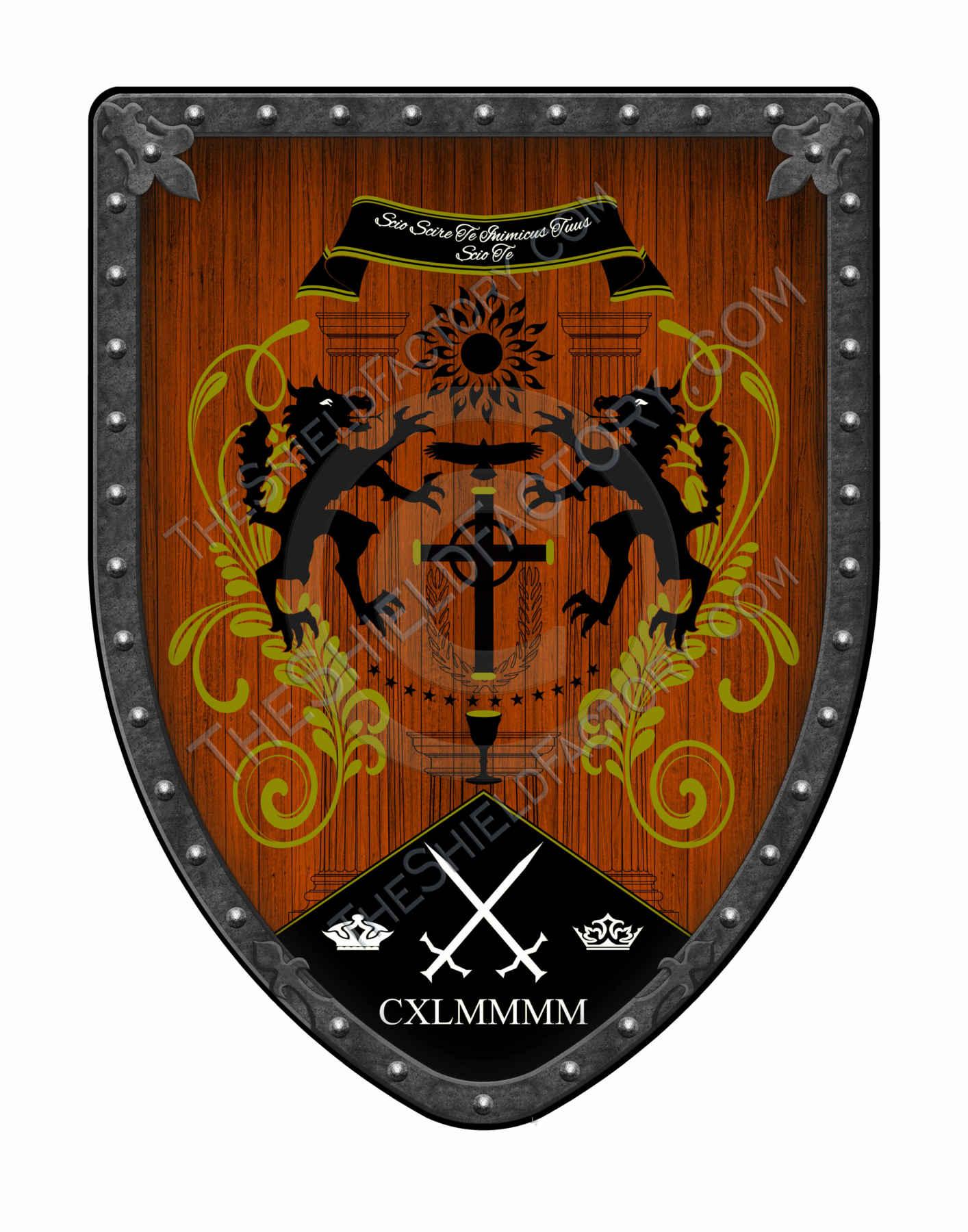 custom crests and coat of arms shields. Black Bedroom Furniture Sets. Home Design Ideas