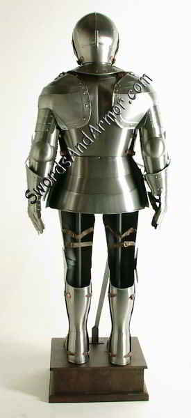 Suit of Armor Back View